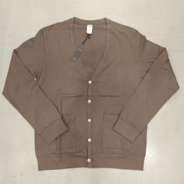 <img class='new_mark_img1' src='//img.shop-pro.jp/img/new/icons30.gif' style='border:none;display:inline;margin:0px;padding:0px;width:auto;' />JIGSAW SUPIMA COTTON CARDIGAN KHAKI