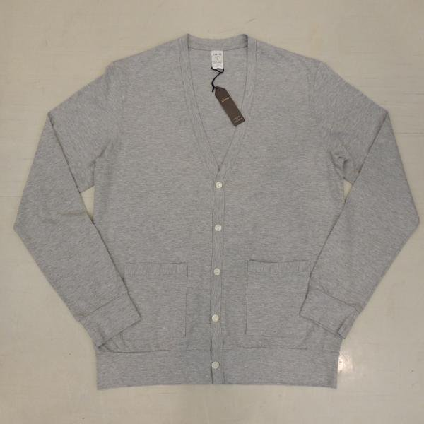 <img class='new_mark_img1' src='https://img.shop-pro.jp/img/new/icons30.gif' style='border:none;display:inline;margin:0px;padding:0px;width:auto;' />JIGSAW SUPIMA COTTON CARDIGAN TOP GRAY