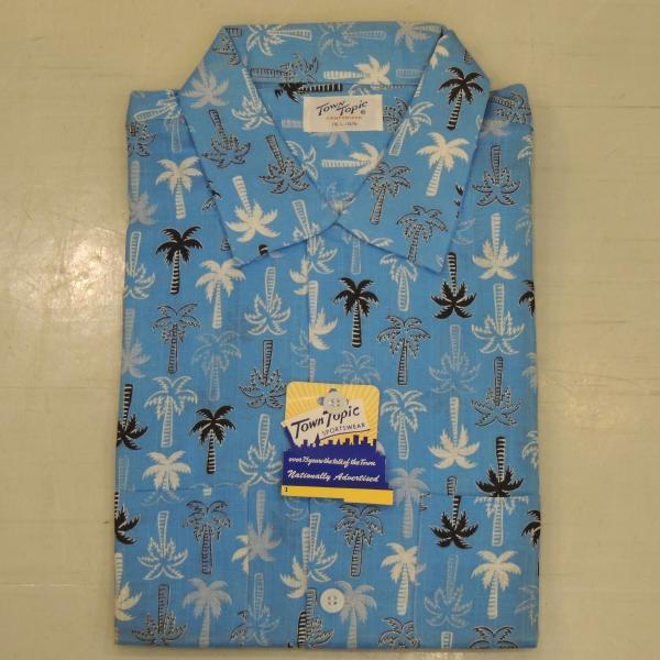 デッドストック TOWN TOPIC ハワイアンシャツ