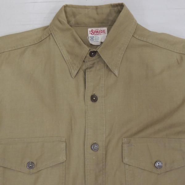 ビンテージ 1930'S SPAIDE  ワークシャツ