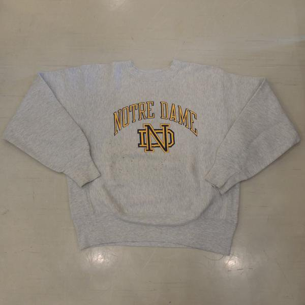 <img class='new_mark_img1' src='https://img.shop-pro.jp/img/new/icons50.gif' style='border:none;display:inline;margin:0px;padding:0px;width:auto;' />CHAMPION REVERSE WEAVE  NOTRE DAME M