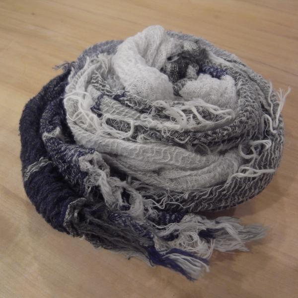 tamaki niime roots shawl cotton SMALL cotton100