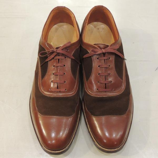 <img class='new_mark_img1' src='https://img.shop-pro.jp/img/new/icons12.gif' style='border:none;display:inline;margin:0px;padding:0px;width:auto;' />VINTAGE FLORSHEIM  U−WING 8D