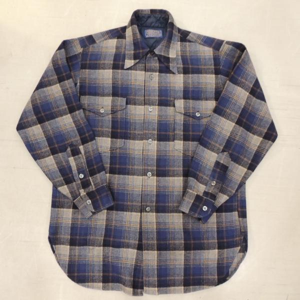 <img class='new_mark_img1' src='https://img.shop-pro.jp/img/new/icons12.gif' style='border:none;display:inline;margin:0px;padding:0px;width:auto;' />ビンテージ ペンドルトン ウールシャツ M