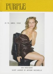 <B>Purple Fashion 28<BR>(Eva Herzigov&#225; for Saint Laurent)</B>