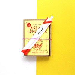 <B>ASIAN LUNCH BOX アジア弁当(ZINE)</B> <BR> ASIAN_FOOD_DESGIN