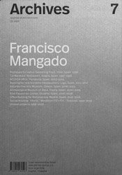 <B>Archives 7: Francisco Mangado</B>