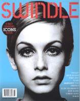 SWINDLE ICONS ISSUE, 1ST ANNUAL (COVER1 TWIGGY)