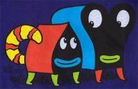 Pupshaw Tシャツ(パープル)