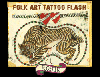 Rosie: Folk Art Tattoo Flash