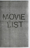 Dash Snow: Movie List