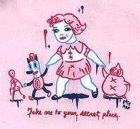Take me to your secret place/ Gary baseman T-Shirt 4
