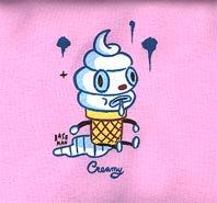 Creamy/ Gary baseman T-Shirt 5