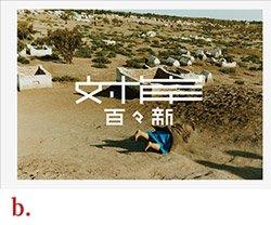 百々新: 対岸 | Arata Dodo: Taigan (表紙b.)