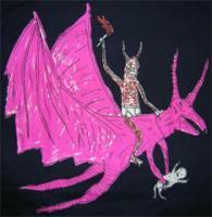 UARM-Tee Neckface Dragon
