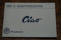 取り扱い説明書 CIAO 1967-68年