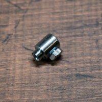 クラッチ  末端金具 凸式 大 3mmワイヤー