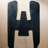 125prima /ET3  床ゴムマット  黒 ロゴ無丸が前 中央フラット