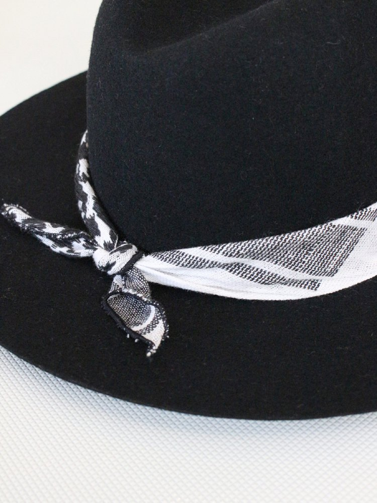 WIDE BRIM HAT #BLACK
