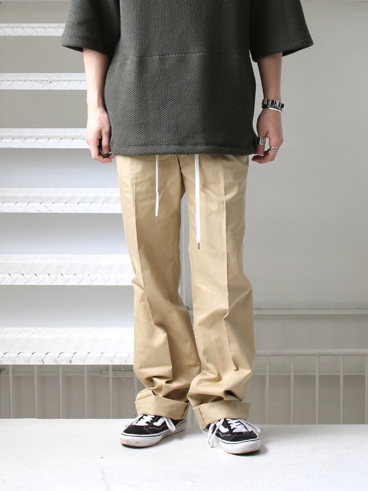 ETHOS | エトス WILD WIDE PANTS #BEIGE
