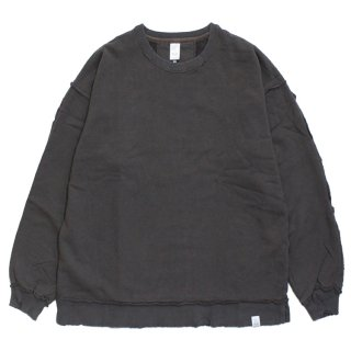 DESTROY CREW SWEAT #BROWN