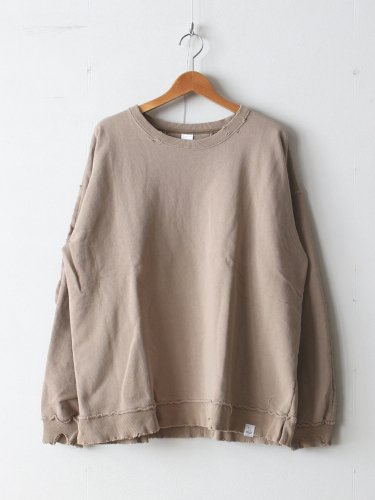 DESTROY CREW SWEAT #BEIGE