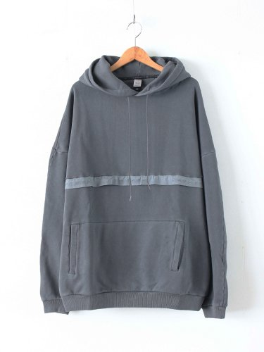 SUPER LOOSE FIT HOODIE #FADE BLACK