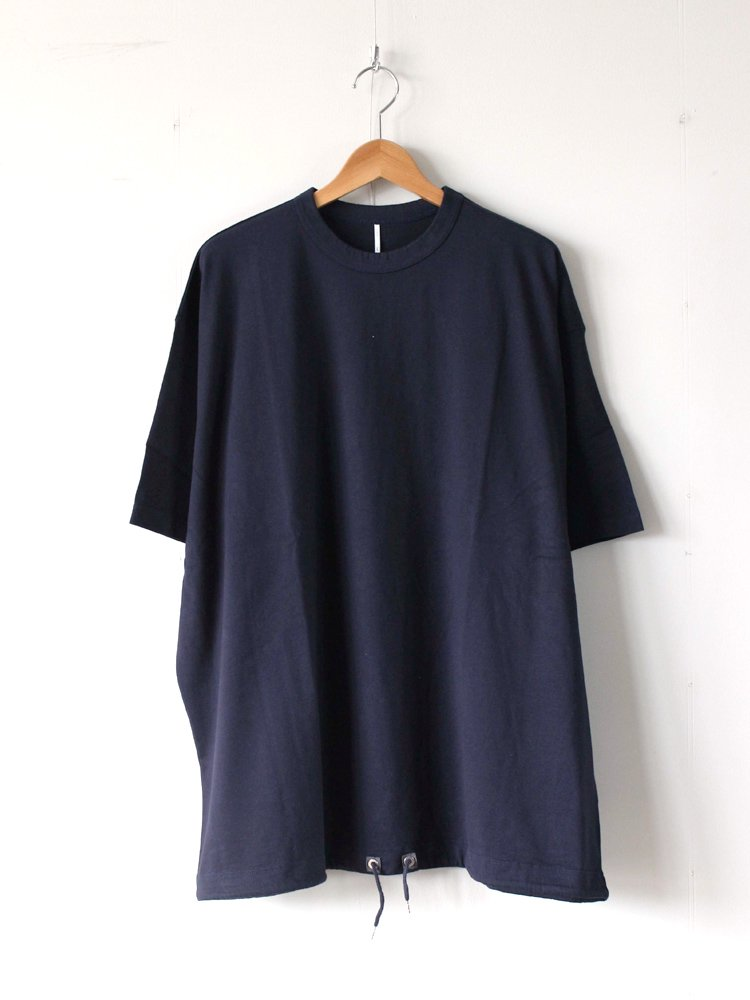 ETHOS | エトス BALLOON TEE #NAVY