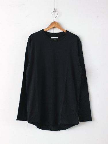 ROUND TAIL LS T #BLACK