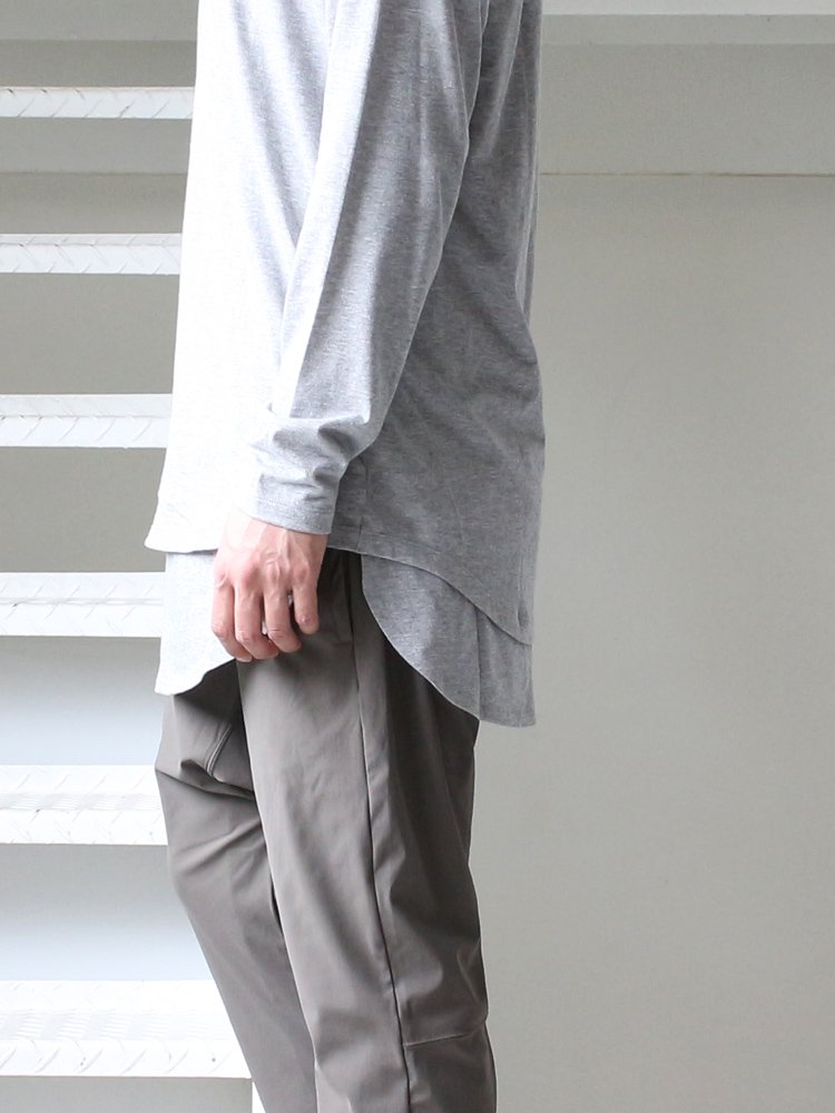 MAGIC STICK | マジックスティック ROUND TAIL LS T #H.GRAY
