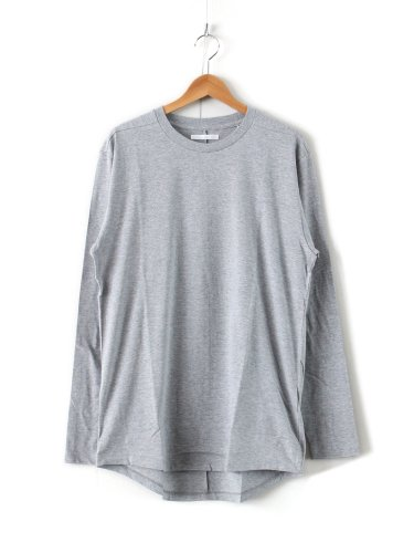 ROUND TAIL LS T #H.GRAY