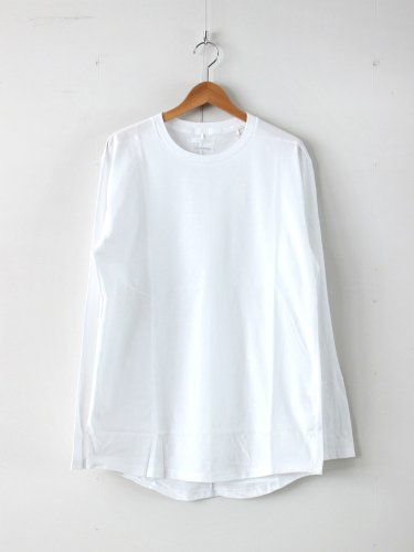 ROUND TAIL LS T #WHITE