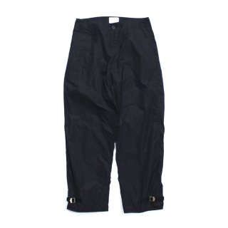 NYLON CARGO PANTS #BLACK