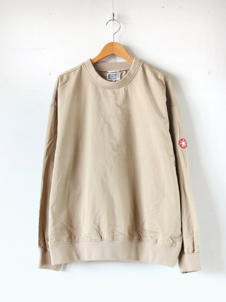 C.E | シーイー <img class='new_mark_img1' src='//img.shop-pro.jp/img/new/icons8.gif' style='border:none;display:inline;margin:0px;padding:0px;width:auto;' />COTTON/LINEN PULLOVER #BEIGE