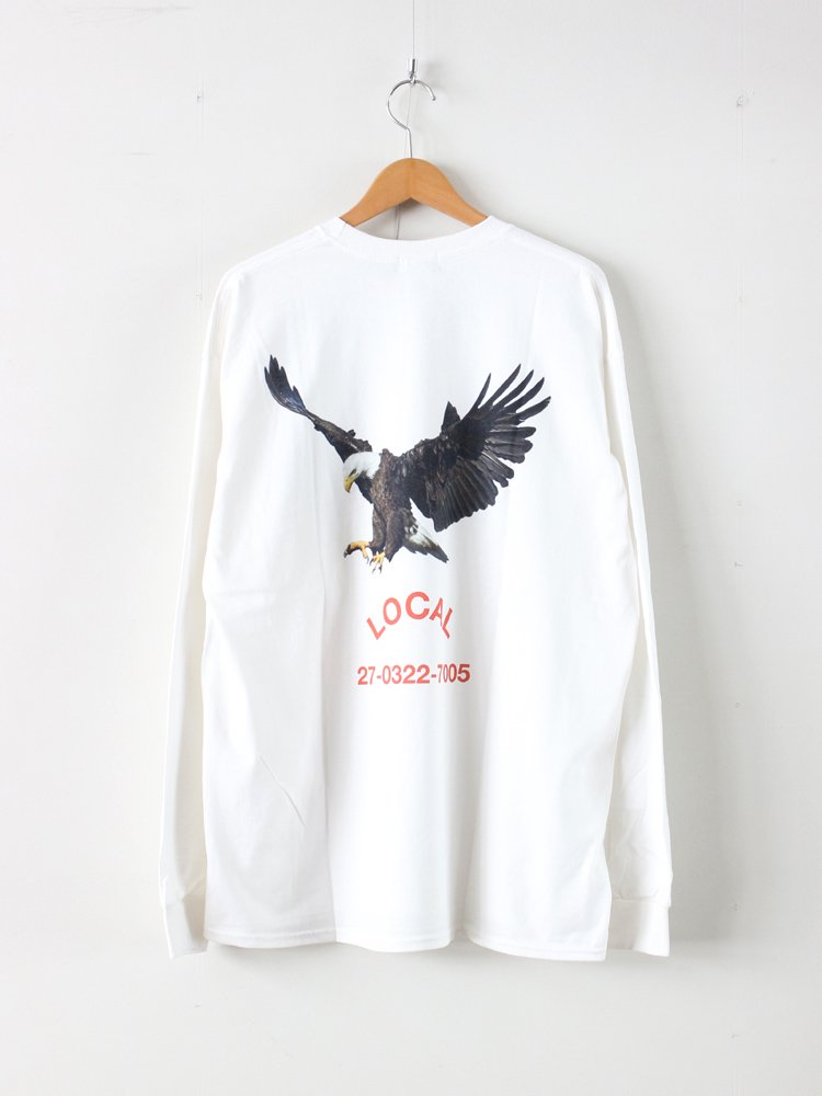 UNTITLED CLUB | アンタイトルクラブ LOCAL L/S TEE #WHITE