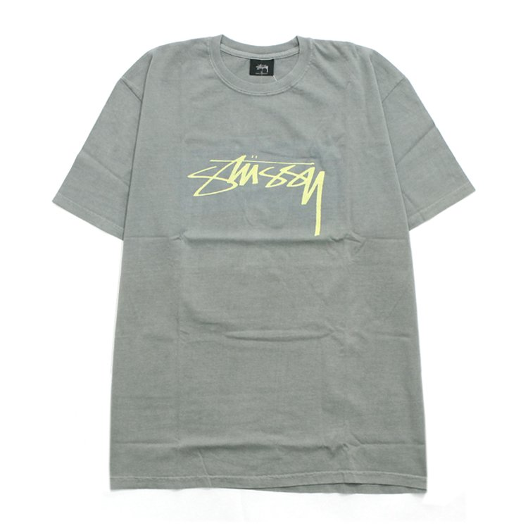 Smooth Stock Pig Dyed Tee #COOL GRAY