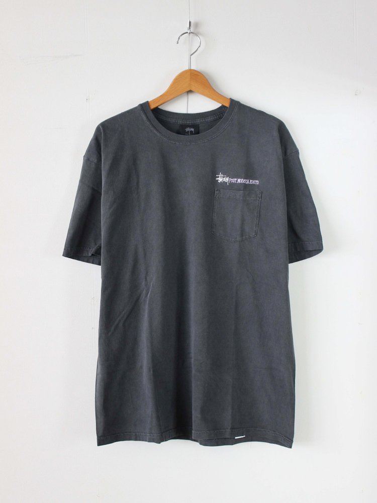 STUSSY | ステューシー Post ModernRoots S/S Tee #BLACK