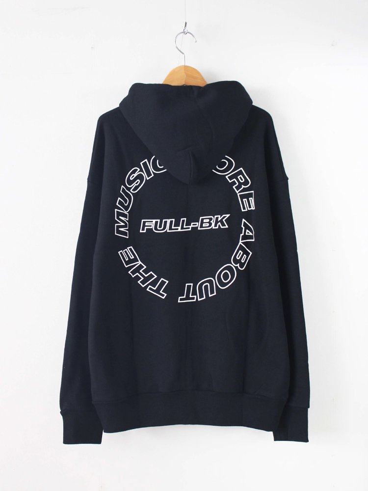 FULL-BK | フルビーケー ABOUT THE MUSIC PARKA #BLACK