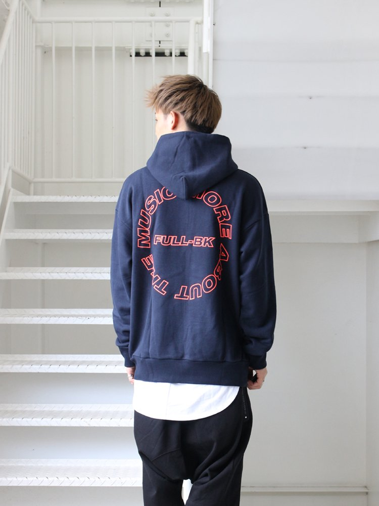FULL-BK | フルビーケー ABOUT THE MUSIC PARKA #NAVY