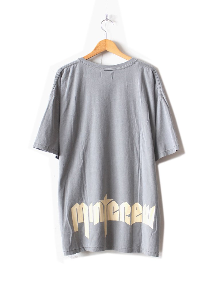 MINT CREW | ミントクルー INSIDE OUT ROCK TEE #GRAY
