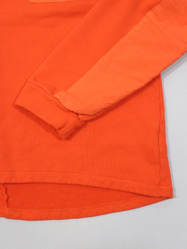 OVER DYED MIL CREW #HERMES ORG