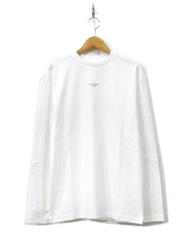 NFPM LONG TEE  #WHITE