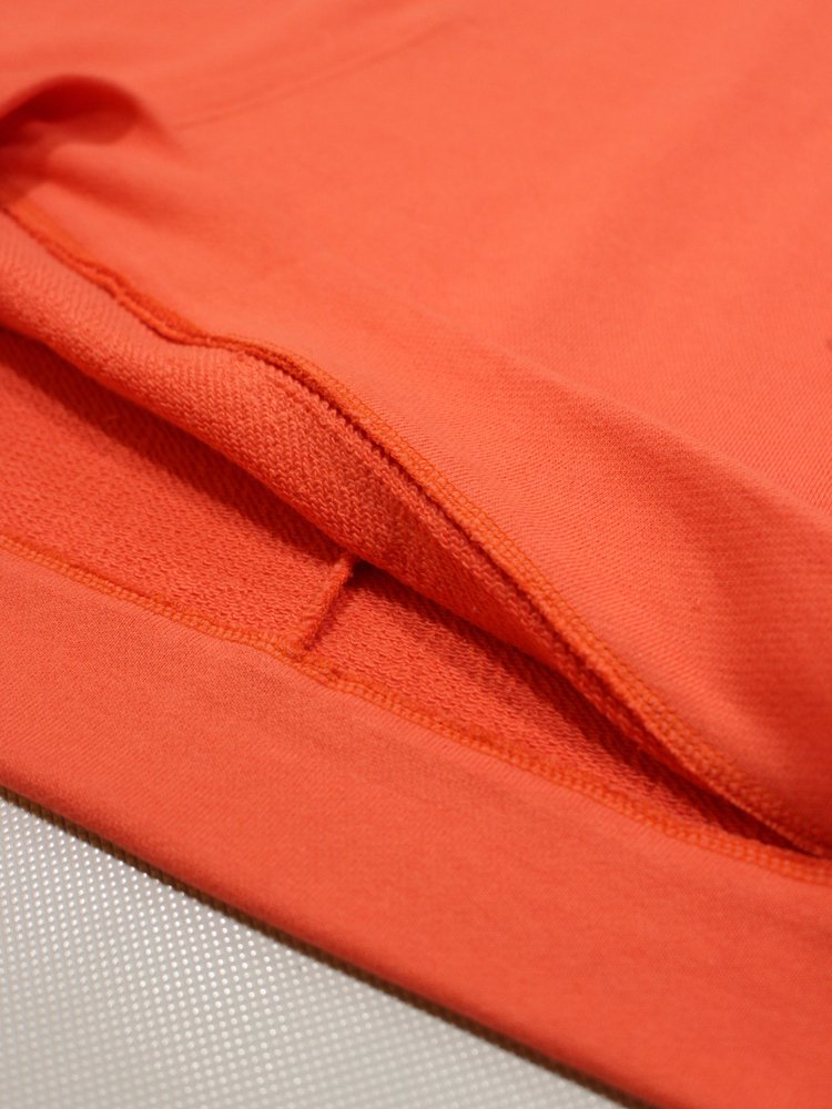 CLAS'SICK' HALF ZIP HOODIE #ORANGE