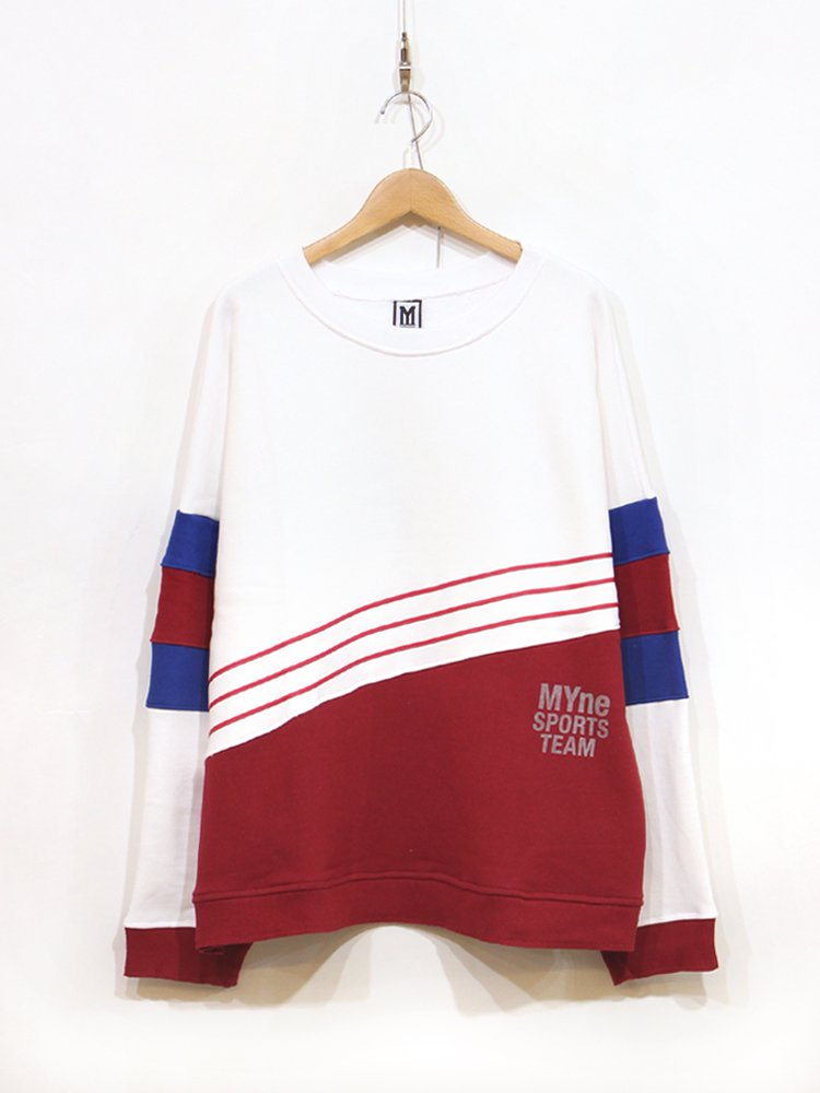MYne | マイン MYne SPORTS TEAM pullover #RED