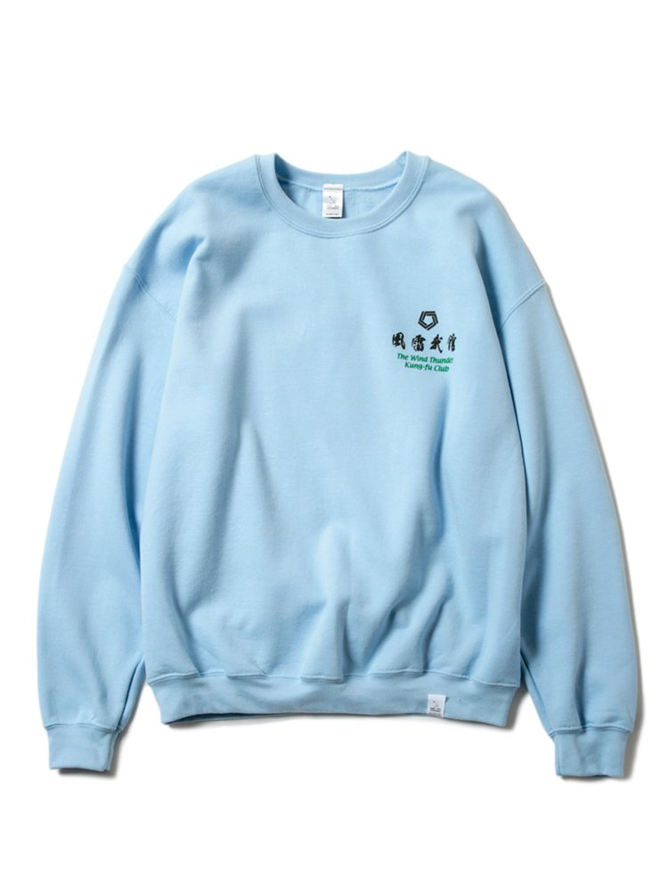 MAGIC STICK | マジックスティック KUNG FU CLUB SURVENIR SWEAT SHIRT #L.BLUE