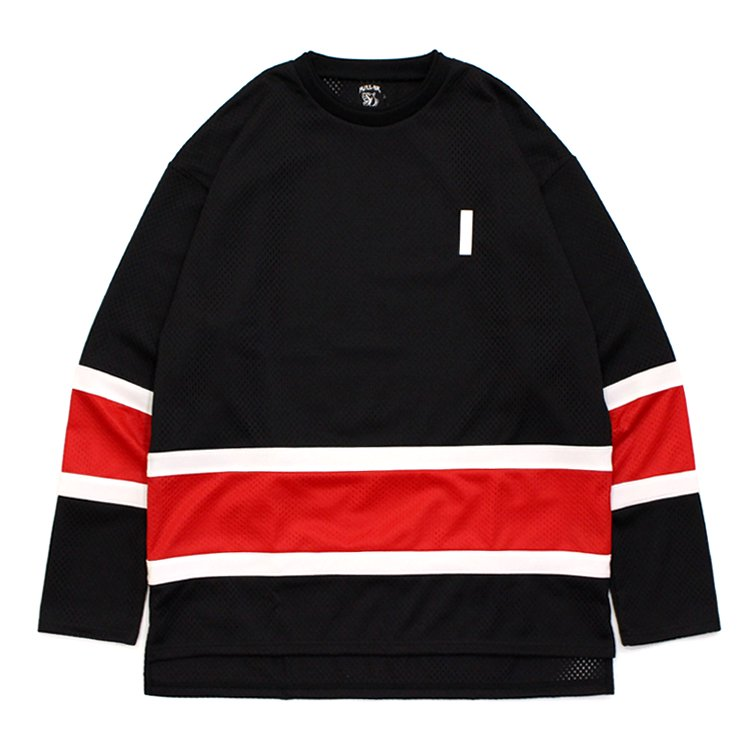 MESH HOCKEY SHIRT #RED