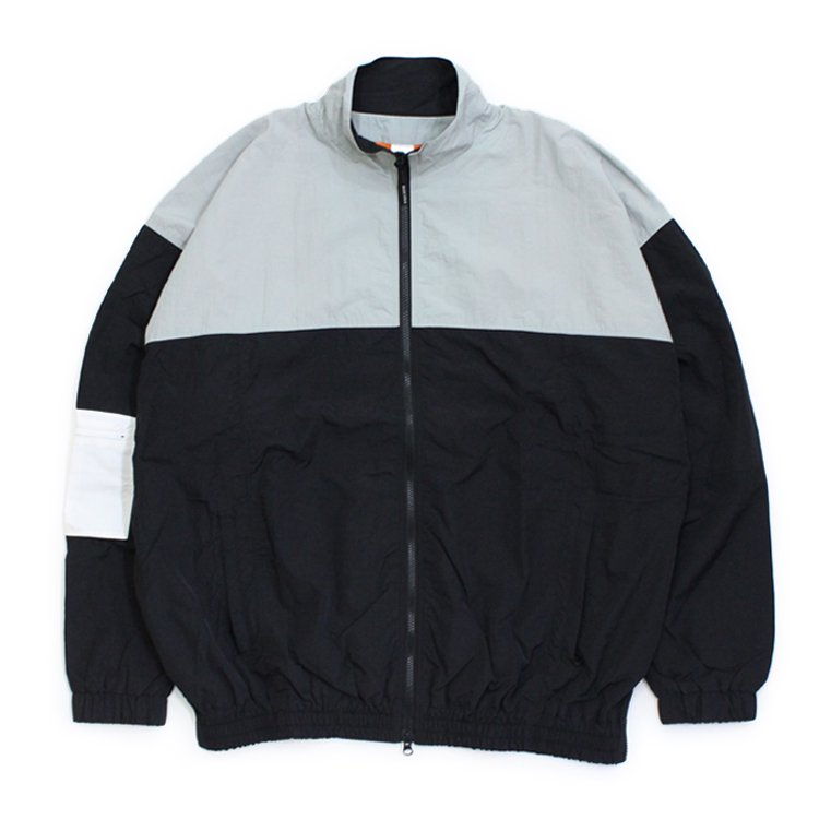 AUTHENTIC TRACK JACKET (PRINT) #GREY