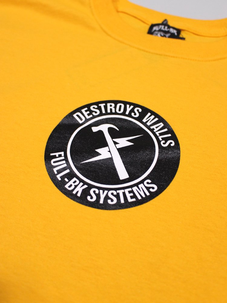 DESTROY WALLS TEE #YELLOW