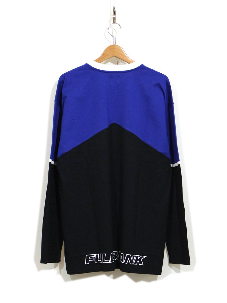 AND BLACK LONG SLEEVE #BLUE