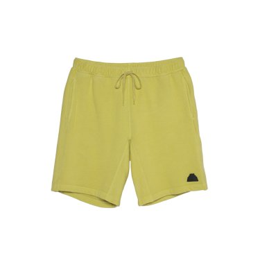OVERDYE SWEAT SHORTS #YELLOW
